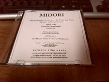 Midori - Alfred Schnittke: Sonata No. 1 Excerpts And Commentary Promo CD 2003
