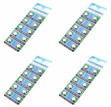 50 PACK AG13 LR44 Battery Equivalent to L1154 357 SR44 303 BATTERIES for Watch