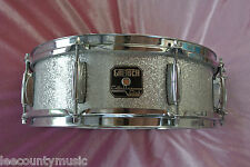 "GRETSCH 14"" CATALINA CLUB SILVER SPARKLE SNARE DRUM for YOUR BEBOP DRUM SET T545"