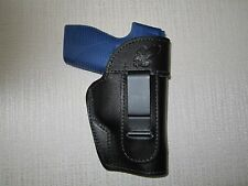 leather ambidextrous holster, Fits Taurus 709 Slim, Kahr cw45