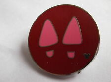 Disney's Minnie Mouse Pink Shoe's Hidden Mickey  Pin  Badge