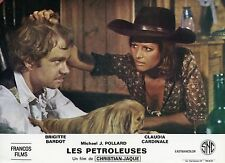 SEXY CLAUDIA CARDINALE LES  PETROLEUSES  1971 VINTAGE LOBBY CARD #6