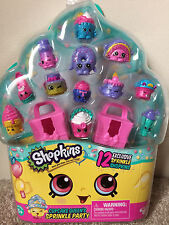 SHOPKINS Cupcake Queen's Sprinkle Party!! 12-pack Exclusive Sprinkle Shopkins!!