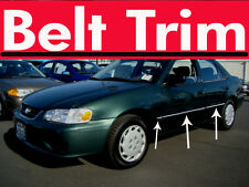 Toyota COROLLA CHROME BELT TRIM 98 99 00 01 02