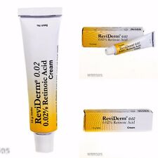 New 15g ReviDerm Vitamin A Anti Aging 0,02% Cream Acne Scars Wrinkle