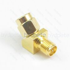 SMA male to RP-SMA female Adapter Connector for Race Goggle Antenna 45 degree
