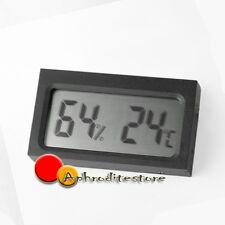 Auto Termometro Igrometro LCD Digitale 2 in 1 Misuratore Temperatura Umidità
