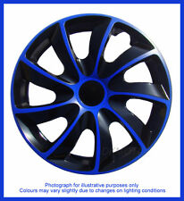 15'' Wheel trims fit Fiat Punto Grande - BLACK / BLUE 15''