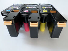 3 x Color Toner For Xerox Phaser 6010 6000 Workcentre 6015 106R01631 ~ 106R01633