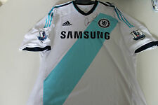CHELSEA - FERNANDO TORRES SIGNED JERSEY UNFRAMED + PHOTO PROOF & C.O.A