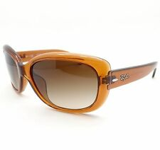 Ray Ban 4101 F Asian Fit Jackie Ohh 717/13 Light Brown Gradient New Authentic