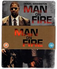 MAN ON FIRE BLU-RAY STEELBOOK NEU & OVP MANN UNTER FEUER SOLD OUT RARE