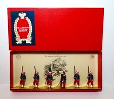 TRADITION Lead Toy Soldier Figure CIVIL WAR COLLIS ZOUAVES, BOXED SET Britains