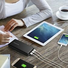 Portable Charger, RAVPower 26800mAh 3-Port 5.5A iSmart Output Compact Power for