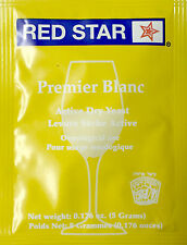 Red Star Premier Blanc Yeast, 5g - 10-Pack