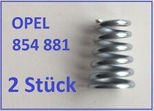 2 Stück Opel Auspuff  Feder  OPEL KADETT E  1.8 i 2.0 i (GSI 115PS)