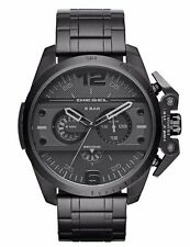 Diesel Ironside DZ4362 Men's Black Dial Chronograph Black Ion Plated Watch