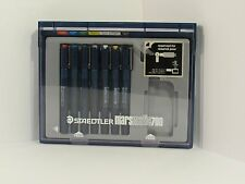 STAEDTLER Marsmatic 700 Technical Pen Set of 7 Pens, Plastic case