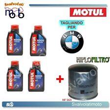TAGLIANDO FILTRO OLIO + 4LT MOTUL 5000 10W40 BMW R-1100 R1100 GS 1996 1997