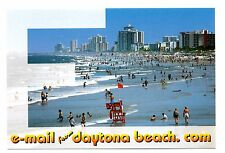 Email From Daytona Beach Postcard Florida Funny Humor URL is Paradise Waves