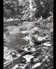 """LES ARCS (83) Pédalo animé à l'HOTEL-RESTAURANT """"RELAIS FRANC-COMTOIS"""" vers 1950"""