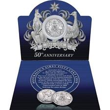 1966 50c ROUND SILVER DECIMAL CURRENCY 50th Anniversary Coin Pack