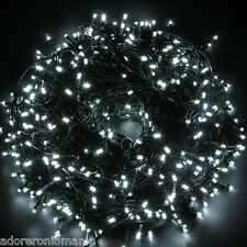 Safe 24V 500Led 100M String Fairy Lights Lighting 8 Modes for Christmas Tree USA