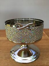 Bath And Body Works Gem Now Pedestal 3 Wick Candle Holder