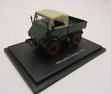 Unimog 411 1972 / Modell / Grün / Traktor / unbespielt / 1:43 / Neu im Blister