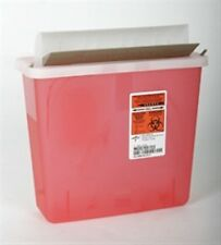 LOT OF 2-5 Qt Sharps Container (Used for the Wall Mount) - FREE SHIPPING