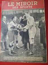1941 le miroir des sports n°31 FOOTBALL PARIS NORD CYCLISME LEDUCQ RECORD AIMAR