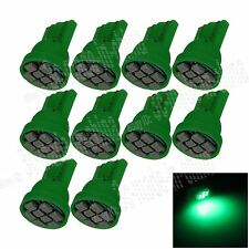 10X Car Green 8 LED 1206 SMD T10 W5W Wedge Side Light Interior Bulb Lamp A037