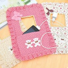 Useful Cloth Switch Pocket Decorative Sets of Creative Mobile Phone Charger Bag