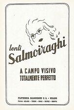 Y2293 Lenti Salmoiraghi - La Filotecnica - Pubblicità del 1942 - Old advertising