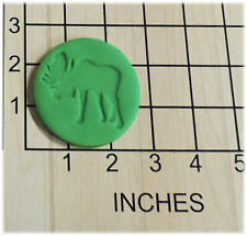 Moose Silhouette Fondant Cookie Cutter and Stamp #1327