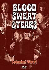 BLOOD SWEAT AND TEARS - SPINNING WHEEL - FACTORY SEALED DVD -LIVE PERFORMANCES