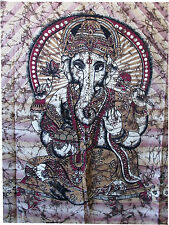Indian Lord Ganesha Hippie bohomian Tapestry Wall Hanging Throw Bedspread Ethnic