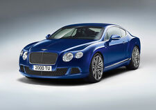 BENTLEY CONTINENTAL GT STUDIO NEW A4 POSTER GLOSS PRINT LAMINATED