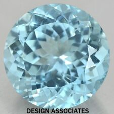 SKY BLUE TOPAZ 8 MM ROUND CUT AAA ALL NATURAL