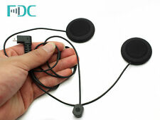 Brand FDC Soft Line Headset Mic Micphone Headphone For T-COM Bluetooth Intercom