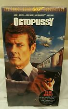 "1983 ""OCTOPUSSY""( VHS) Factory Sealed! NEW"