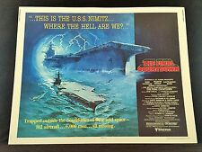 Original 1980 THE FINAL COUNTDOWN Half Sheet Movie Poster 22 x 28 Douglas Sheen