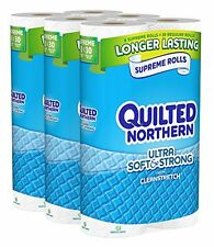 Quilted Northern Ultra Soft and Strong Bath Tissue, 24 Supreme Rolls Toilet P...