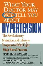 Mark C Houston - What Your Doctor Hypertension (2003) - Used - Trade Paper