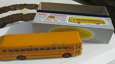 DINKY 949 WAYNE USA SCHOOL BUS LIGHTLY PLAYWORN ORIGINAL IN GOOD ORIGINAL BOX.