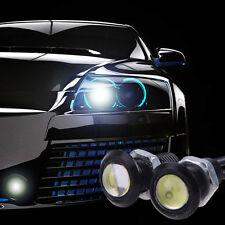 10x 23mm Eagle Eye Weiß Lampe Auto Motor LED Helle Tagfahrlicht DRL Schwanz 24V