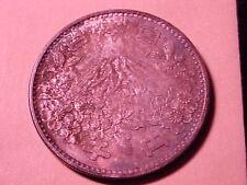 1964 Japan Large Silver 1000 Yen-Mount Fuji/Olympics Intense Toning- Bu