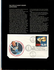 The STS-8 (Challenger) Flight Cover USPS/NASA MINT Condition - 112171 of 165000