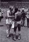 Pele Bobby Moore World Cup Shirts BW 10x8 Photo