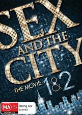 Sex And The City / Sex And The City 2 (DVD, 2010 2-Disc Set) TV Comedy/Drama VGC